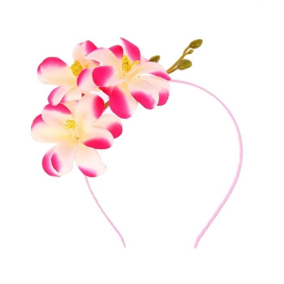 "Гавайский ободок ""Даурская лилия"""