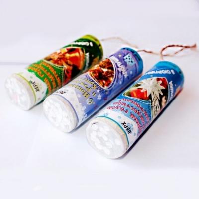 """Хлопушка """"Новогодняя"""" , 10 см, конфетти"""