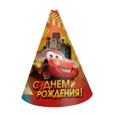 """Набор для проведения праздника """"С днём рождения!"""", Тачки"""