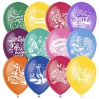 Воздушные шарики Новый год 2017 Петух