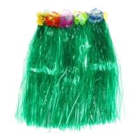 Гавайская юбка, цвет зелёный, 40 см