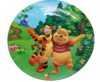 Тарелка Винни Пух и Тигра, 6 шт