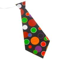 """Карнавальный галстук """"Круги"""", набор 6 шт"""