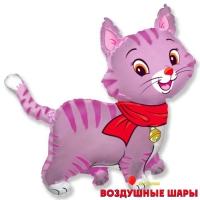 """Воздушный шар """"Розовый котик"""""""