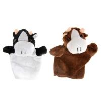 "Мягкая игрушка на руку ""Корова"""