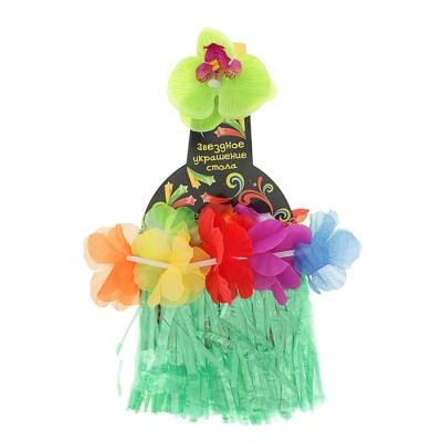 "Одежда на бутылку ""Гавайи"", цвет зелёный"