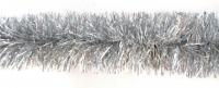 Новогодняя мишура, цвет серебро, 200 см
