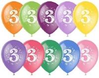 Воздушный шар цифра 3 (Три)