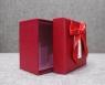 Коробка красная с бантом