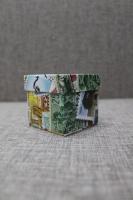 Коробка квадратная, вид 7
