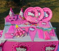 "Набор посуды для праздника ""Hello Kitty"""