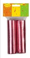 Серпантин фольгированный 2ст/36колец Красный