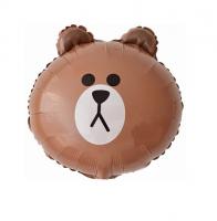 """Фольгированный шар """"Медведь"""" 46 см"""