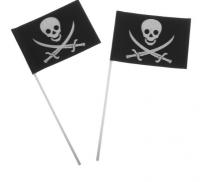 "Флаг пиратский ""Череп"" 1 шт"