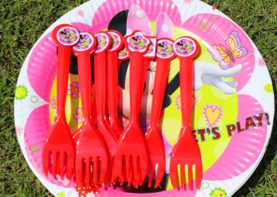 """Набор посуды для праздника """"Минни Маус"""""""