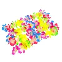 """Гавайская гирлянда """"Цветочки"""", разноцветная"""