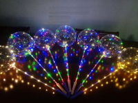 Светящийся LED шар на палочке