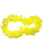 """Гавайское ожерелье """"Лимонный цвет"""""""