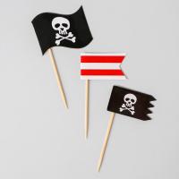 Шпажки «Пират», набор 12 шт.