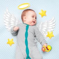 """Набор элементов для детской фотосессии """"Маленький ангел"""""""