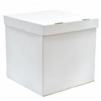 Коробка сюрприз для воздушных шариков, Белый, 60*60*60 см