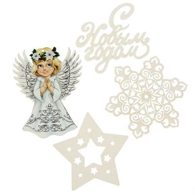 """Набор для оформления Нового года """"Ангелы"""""""