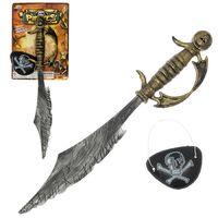 Игровой набор «Пират»: сабля, повязка
