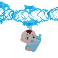 """Гирлянда """"Малыш"""" с пустышкой, 250 см, цвет голубой"""