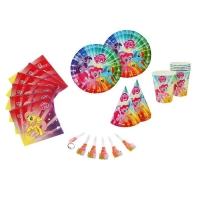 Набор для праздника My Little Pony на 6 персон, 30 предметов