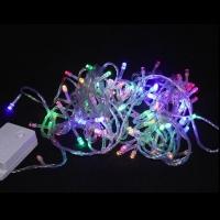 Новогодняя гирлянда на 100 ламп светодиодная,разноцветная