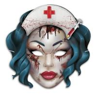"""Маска карнавальная """"Мертвая медсестра"""""""