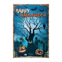 """Плакат """"Винтажный хеллоуин"""""""