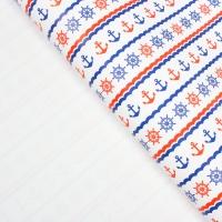 "Бумага упаковочная ""Морская"", 50 см х 70 см"