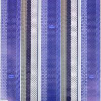 """Бумага упаковочная глянцевая """"Лаконичный синий"""", 70 х 100 см"""