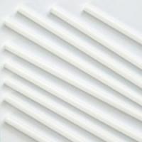 Палочка (трубочка) для воздушных Шаров 37 см диаметр 5 мм Белыйй