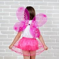 Карнавальный набор «Маленькая фея», 2 предмета: юбка и крылья