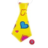 Карнавальный галстук «Сердечки»