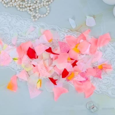 Лепестки роз, искусственные, микс