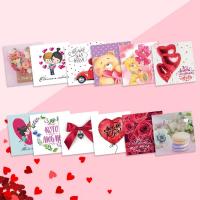 Мини-открытка «День Святого Валентина», 7 × 7 см, 1 шт.