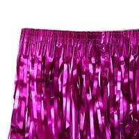 Юбка, 40 см, на липучке, цвет розовый