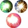 """Бенгальские огни  """"Цветное пламя"""" 25 см, 9 штук (зеленый, синий, красный)"""