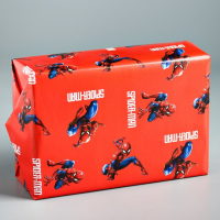 Бумага упаковочная 70х100 см, Человек-паук