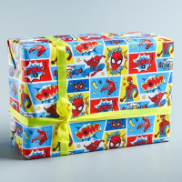 Бумага упаковочная 50х70 см, Человек-паук