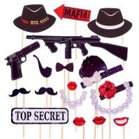 """Набор для фотосессии """"Mafia Party"""""""