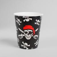 Стакан бумажный «Пират», 250 мл