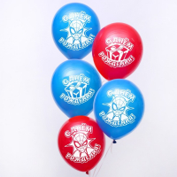 """Воздушные шары «С Днем Рождения», Человек-паук, 1 шт., 12"""""""