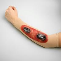 Рана 3Д, на руку, виды МИКС