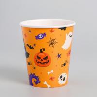 Стакан бумажный Halloween, 250 мл, 10 шт