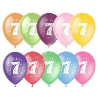 Воздушный шар цифра 7 (Семь)
