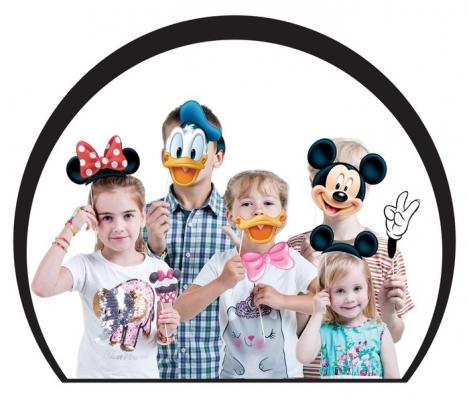 "Набор фотобутафории ""Микки Маус и друзья"", Микки Маус и друзья"